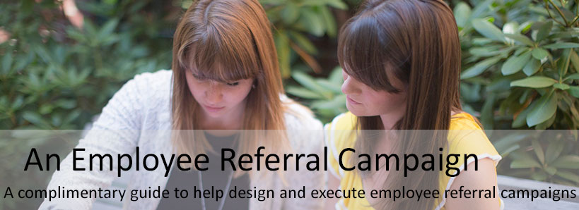 employee referral campaign header