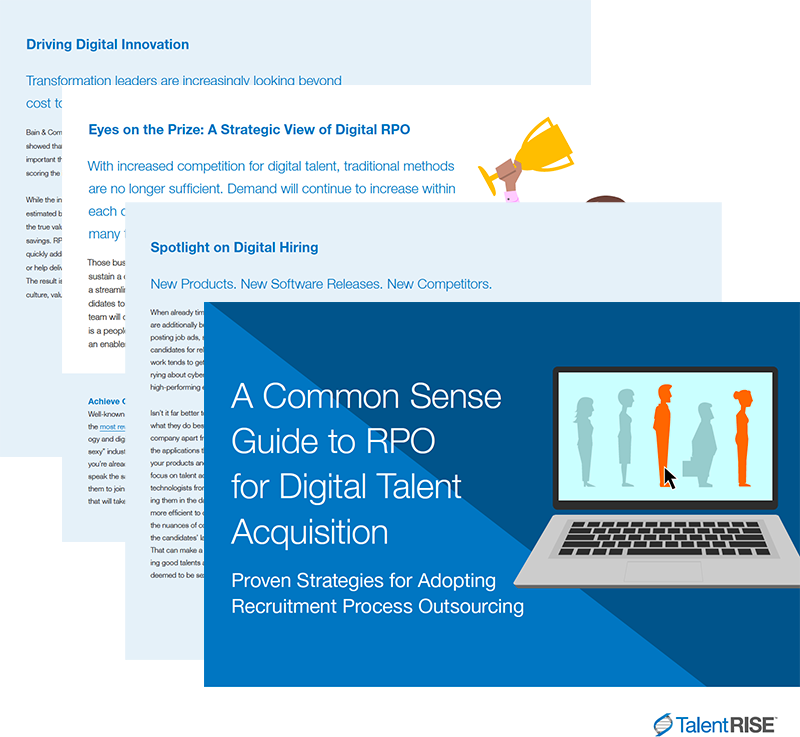 TalentRISE RPO for Digital Talent