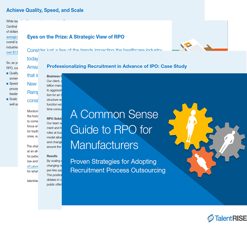 TalentRISE RPO for Manufacturers