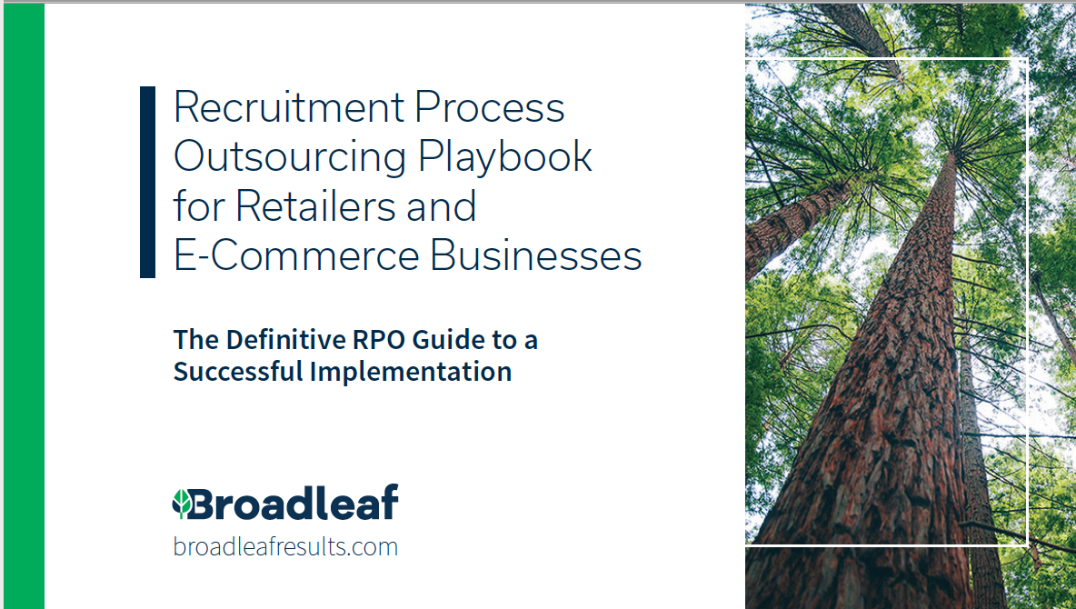 RECRUITMENT PROCESS OUTSOURCING PLAYBOOK FOR RETAILER OR E-COMMERCE BUSINESSES